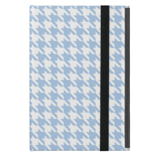 Placid Blue Houndstooth iPad Mini Cover