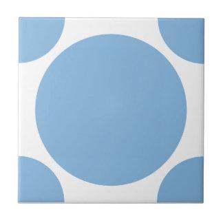Placid Blue Polka Dot 2 Ceramic Tiles