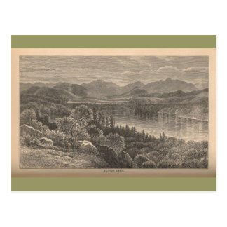 Placid Lake Post Card