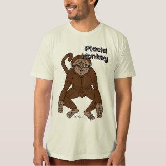 Placid Monkey T Shirt