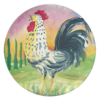 Placido Rooster plate