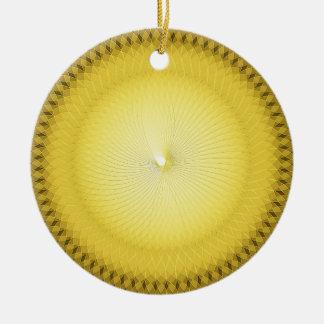 Plafond amarillo ornamente de reyes