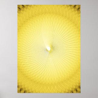 Plafond amarillo impresiones