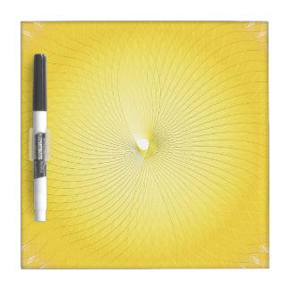 Plafond amarillo tableros blancos