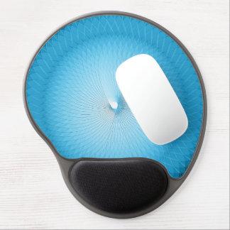 Plafond azul claro alfombrilla de ratón con gel