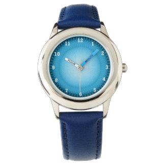 Plafond azul claro relojes