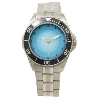 Plafond azul claro relojes de mano
