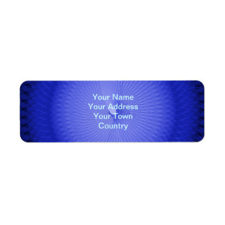 Plafond azul etiqueta de remite