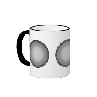 Plafond de plata tazas de café