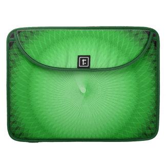 Plafond verde funda para macbook pro