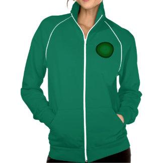 Plafond verde chaqueta imprimida