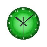 Plafond verde relojes