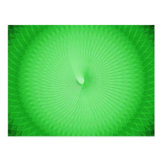 Plafond verde tarjetas postales