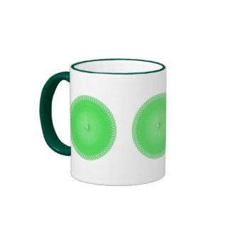 Plafond verde tazas de café