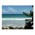 Plage (playa), Le Diamant - Martinica, FWI Postal