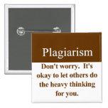 Plagiarism Button