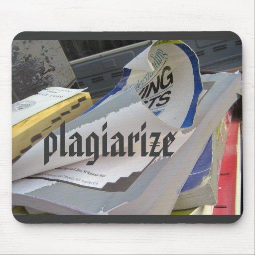 Plagiarize Mouse Pad