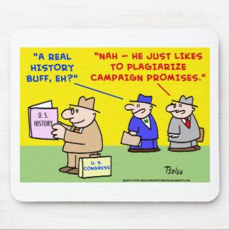 plagie las promesas de la campaña tapete de ratones