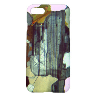 Plagioclase in Thin Section Mineralogy iPhone 8/7 Case