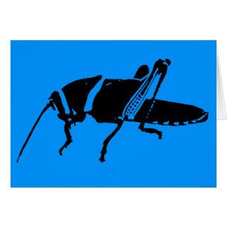 """""""Plague 8 - Blue"""" - Card"""