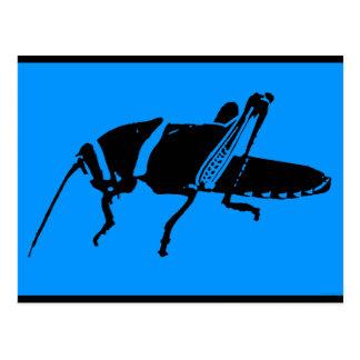 """Plague 8 - Blue"" - Postcard"
