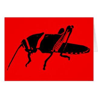 """Plague 8 - Red"" - Card"