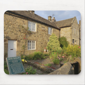Plague Cottages in Historic Eyam, Derbyshire Mouse Pad