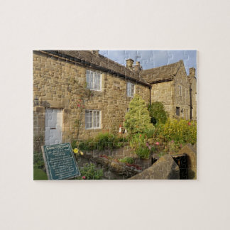 Plague Cottages in Historic Eyam, Derbyshire Jigsaw Puzzle