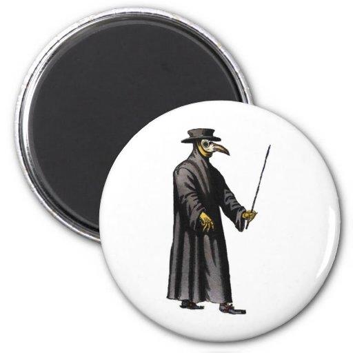 plague-doctor-3 fridge magnet