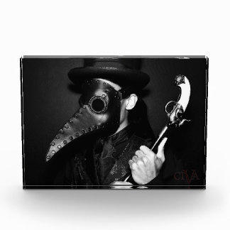 Plague Doctor Acrylic Award