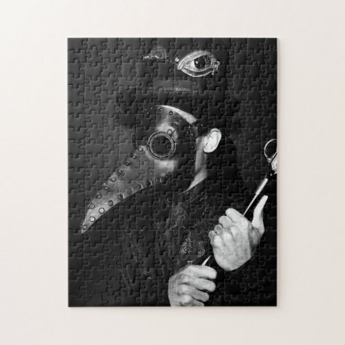 Plague Doctor Jigsaw Puzzle