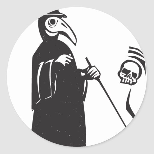 Plague Doctor Stickers