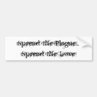 Plague=Love Bumper Sticker