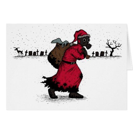 Plague Santa T-shirt Cards