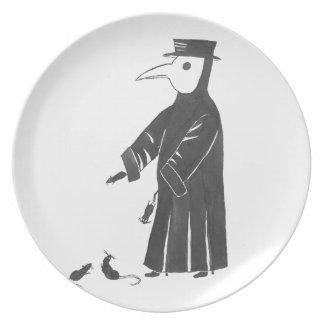 Plague Spirit Plate