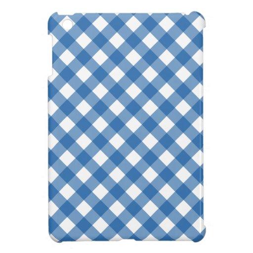 Plaid 1 Dazzling Blue iPad Mini Case