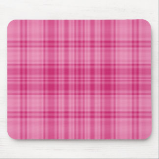 Plaid 1 - Pink Mousepads