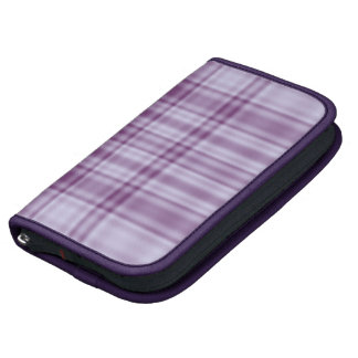 Plaid 1 - Purple Folio Planners