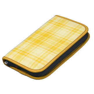 Plaid 1 - Yellow Organizer