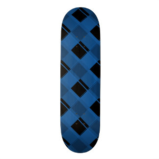 Plaid 3 Dazzling Blue Skateboard Deck