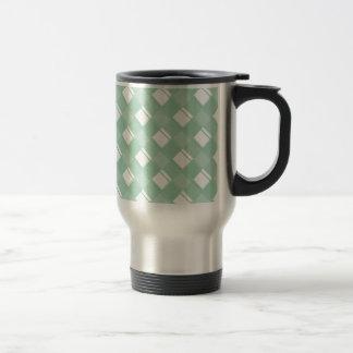 Plaid 3 Hemlock Coffee Mugs