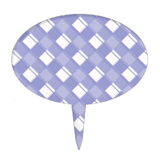 Plaid 3 Violet Tulip Cake Toppers