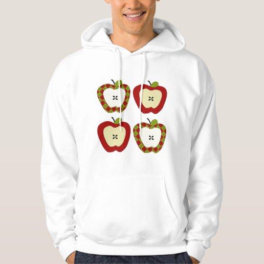 Plaid Apple Quartet Hoodie