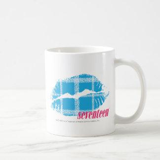 Plaid Aqua Coffee Mugs