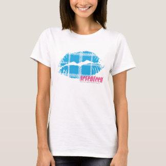 Plaid Aqua T-Shirt