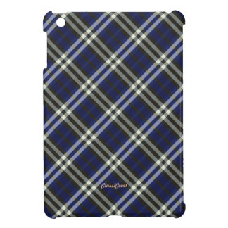 Plaid Blue Brown White Pattern Cover For The iPad Mini
