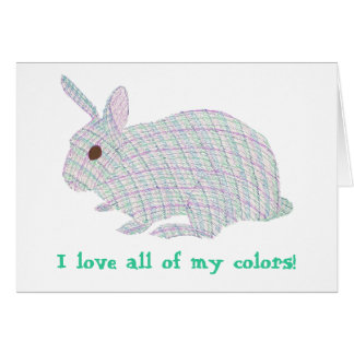 Plaid Bunny,  I love all of my colors Affirm cards