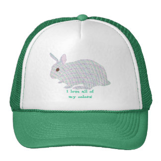 Plaid Bunny,  I love all of my colors, hats