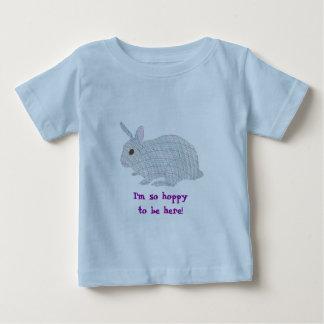 Plaid Bunny,  I'm so hoppy to be here, tshirts