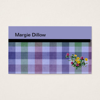 Plaid Business Cards